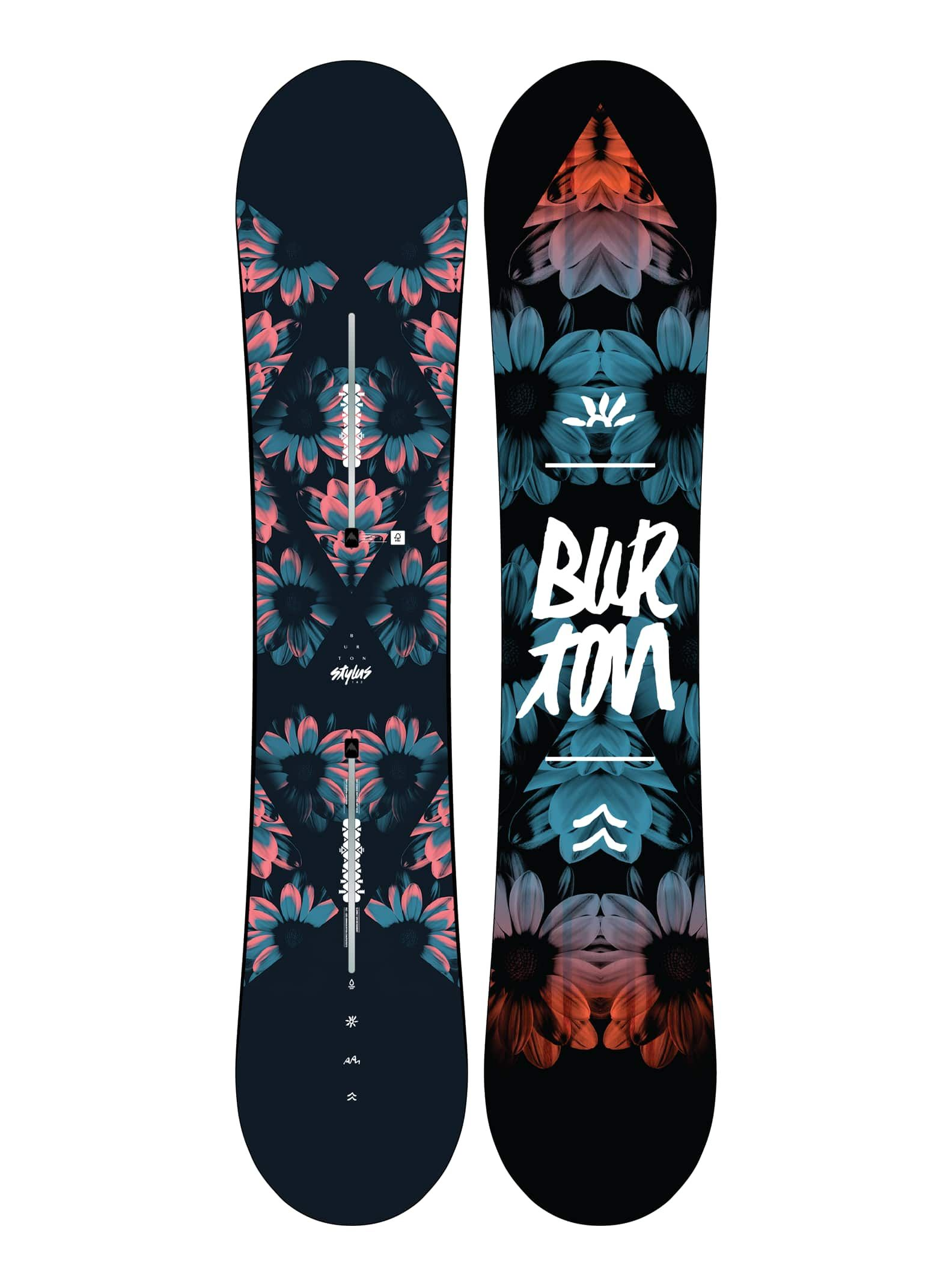Burton Women S Stylus Flat Top Snowboard Needs Color 142