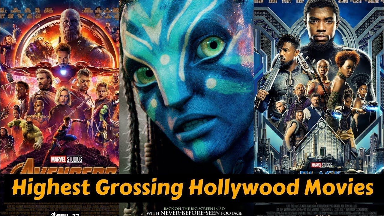 10 Hollywood Highest Grossing Movies List Of All Time With -8719