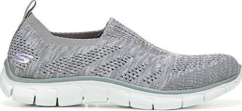 ff2e0ce060c6 Skechers Women s Shoes in Gray Color. Rule the comfort roost in the Empire  Inside Look Sneaker from Skechers.  Skechers  gray  shoes  fashion  style