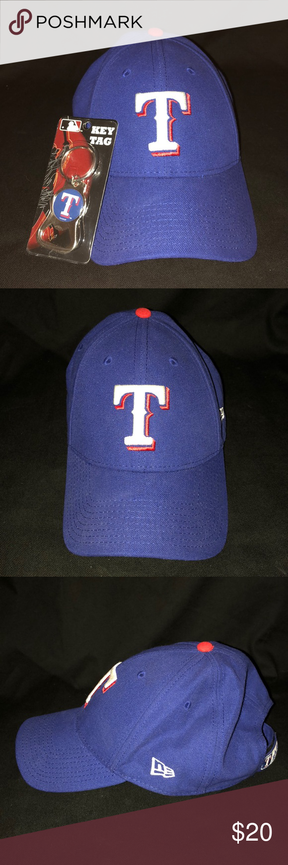 Texas Rangers Baseball Cap   Key Tag Cap in Excellent like-new condition   key tag new New Era Accessories Hats 7afc2629dd08