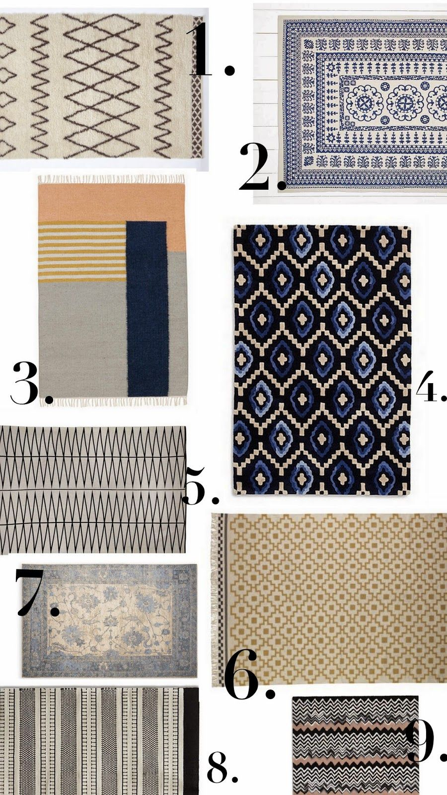The Frugality: Affordable interiors: Rugs