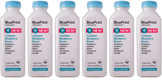 Cashew blueberry boom supermarket sweep pinterest blueberry blueprints cashew blueberry boom boast eight grams of plant based protein with a naturally sweetened taste malvernweather Choice Image