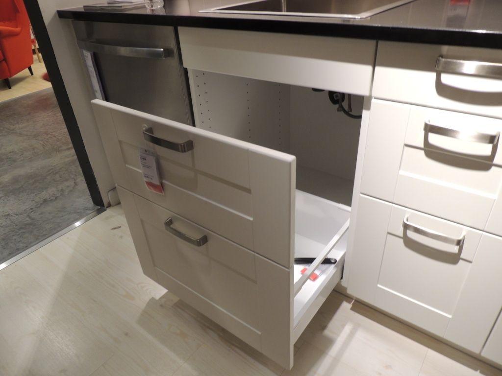 How Ikea Trash Bin Cabinets Affect Your Kitchen Design Under Kitchen Sinks Ikea Kitchen Sink Ikea Kitchen