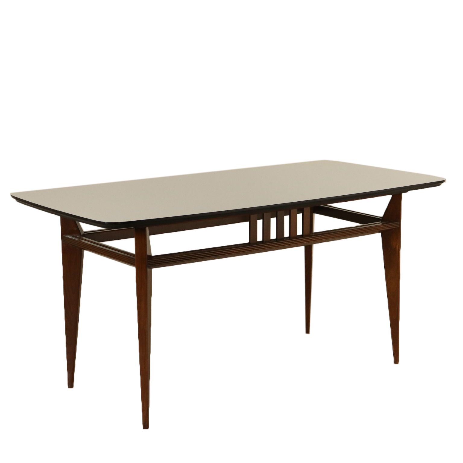 Beechwood Table And Laminated Top 1960s In 2020 Formica Aluminum Table Stained Table