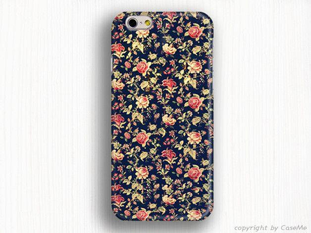 Handytaschen - Hülle für iPhone 5, Blumen hülle iphone 4 - ein Designerstück von caseme555 bei DaWanda