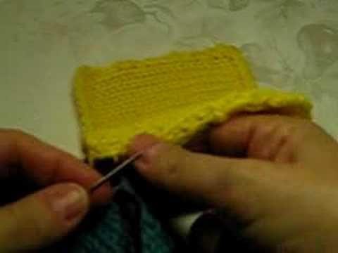 Como Fazer Costura Invisivel no Trico   4 Knitting (tricot ...