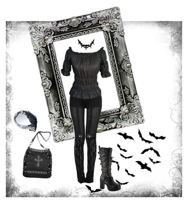 """""""Untitled #72"""" by sinsilky on Polyvore featuring Demonia"""