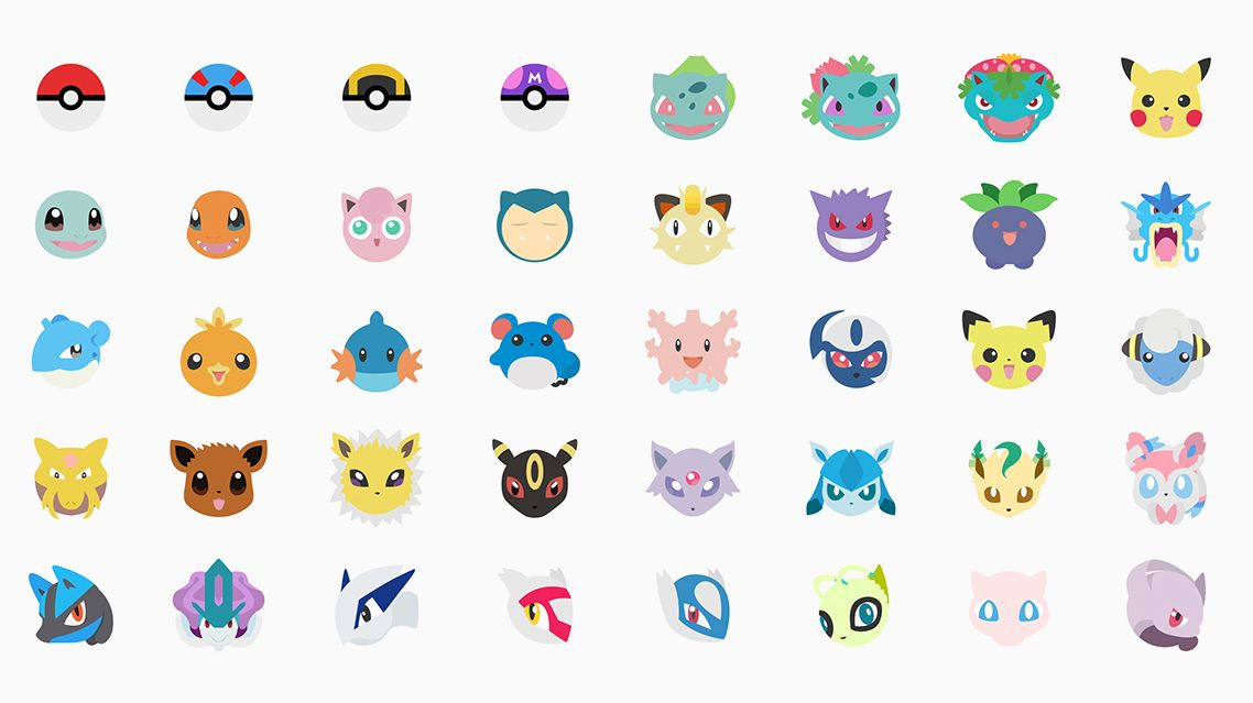 Pokemoji Keyboard Brings Emoticon Pokemon To Your Fingertips Graphic Design Fun Pokemon Emoji Keyboard