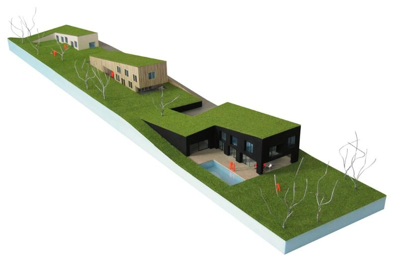 Modern Green-Roofed Homes Blend Into Poland\'s Countryside   Poland ...