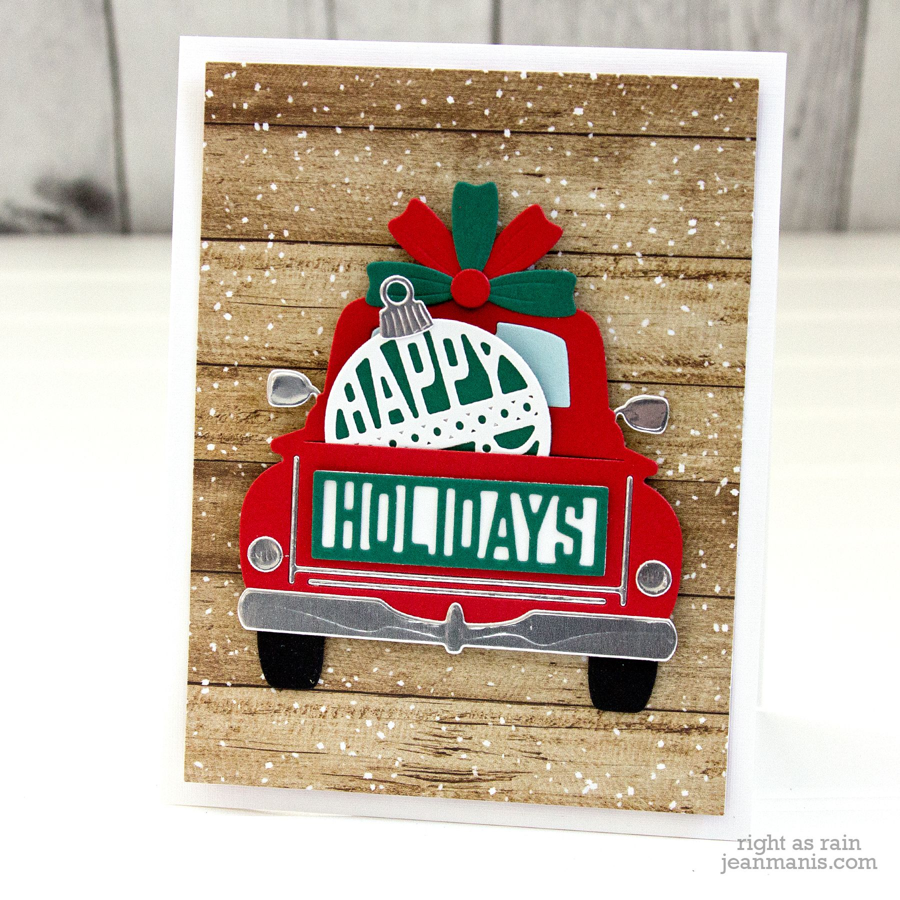 Small Christmas Cards 2020 Pin on Small Die Of The Month by Spellbinders   Inspiration!