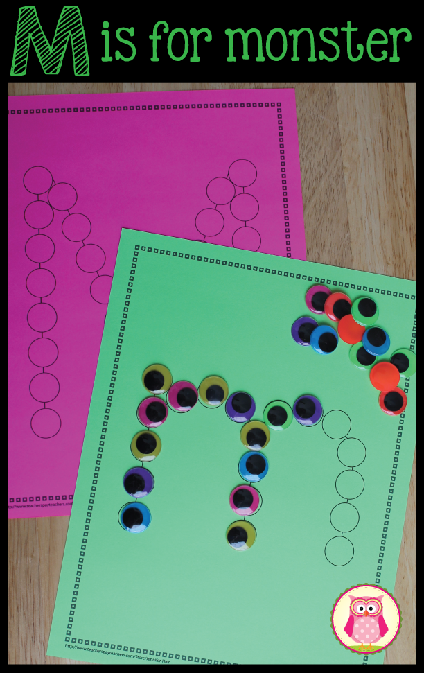 ABC Dot Worksheets: Alphabet Activity Sheets for Preschool and ...
