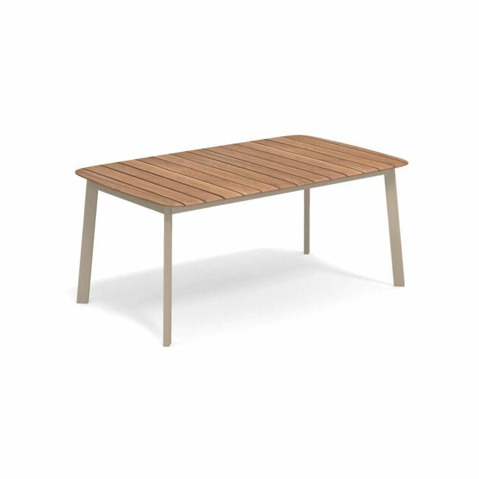 Tavolo Da Giardino Teak.Tavolo Rettangolare Con Piano In Teak 166x100 In 2020 Outdoor