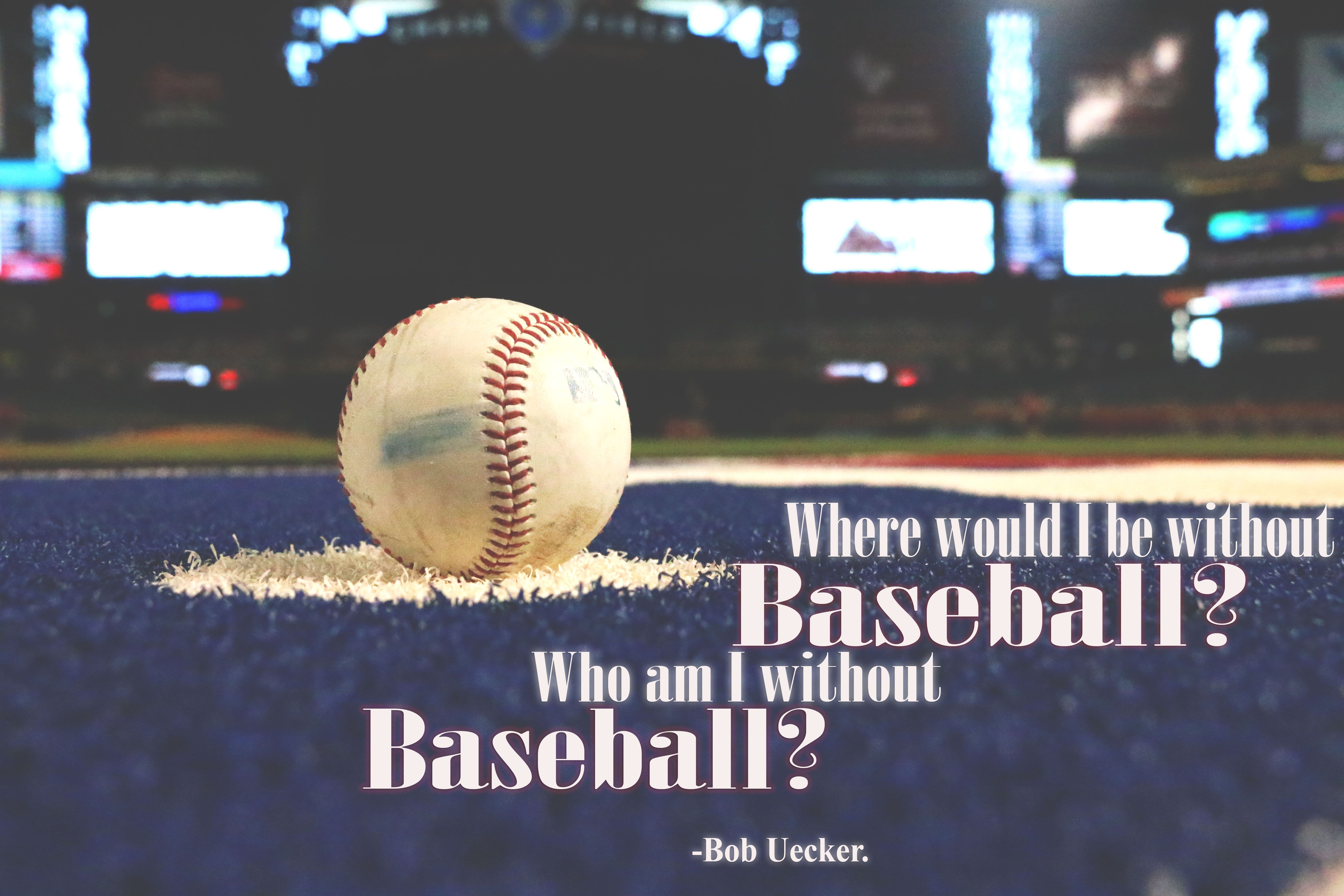 Baseball Quotes About Life What's A Life Without Baseball Anyways Bobuecker  Baseballisms