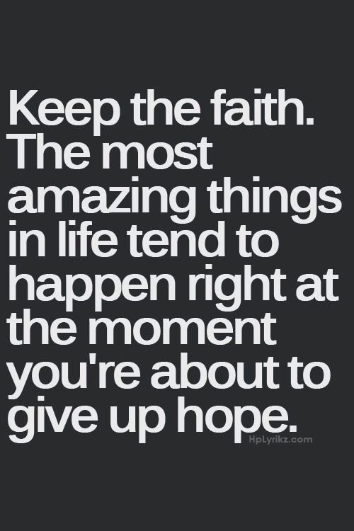 I Choose Faith Even When Things Seem Hopeless I Will Overcome