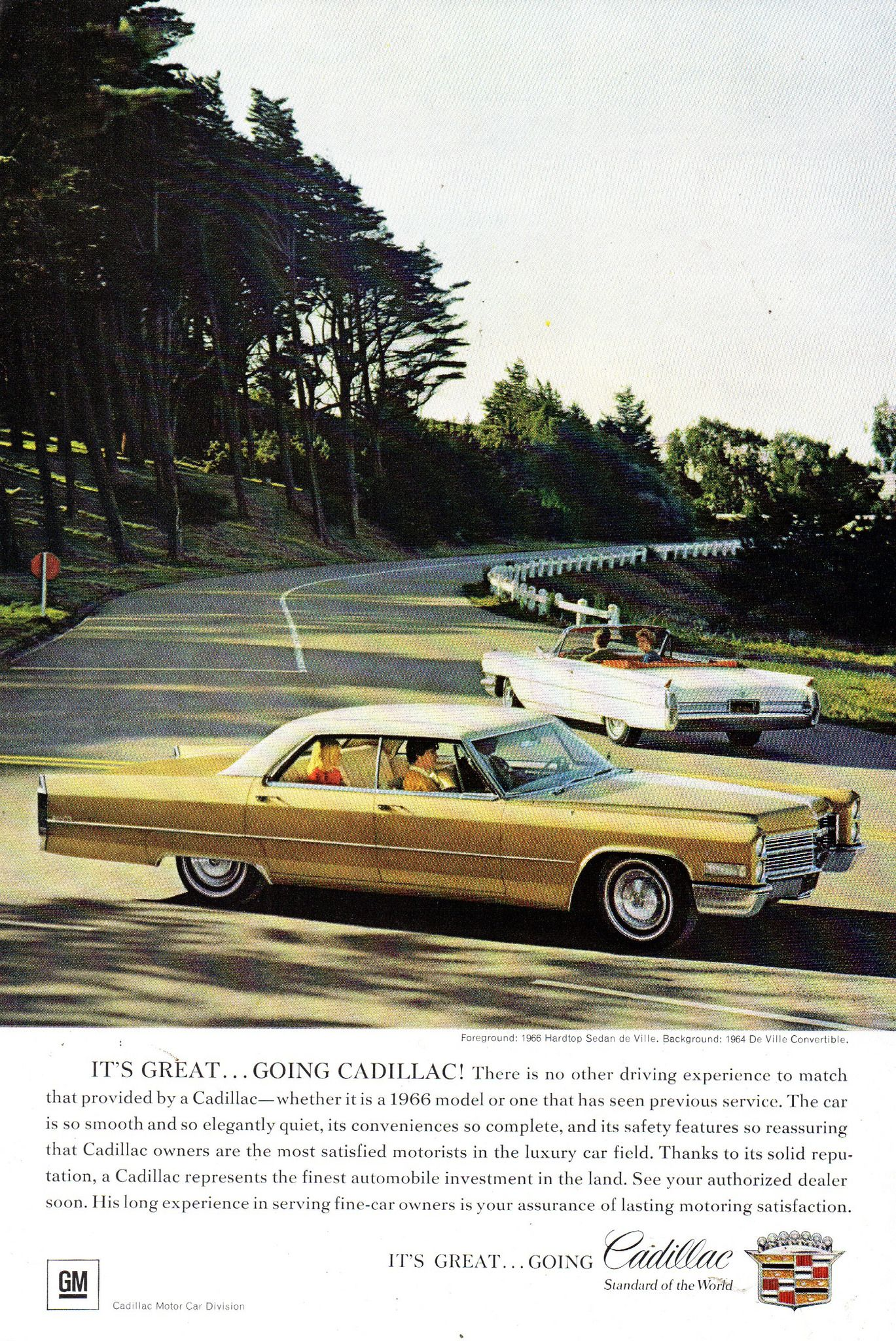 1966 Cadillac Sedan De Ville De Ville Convertible Usa Original