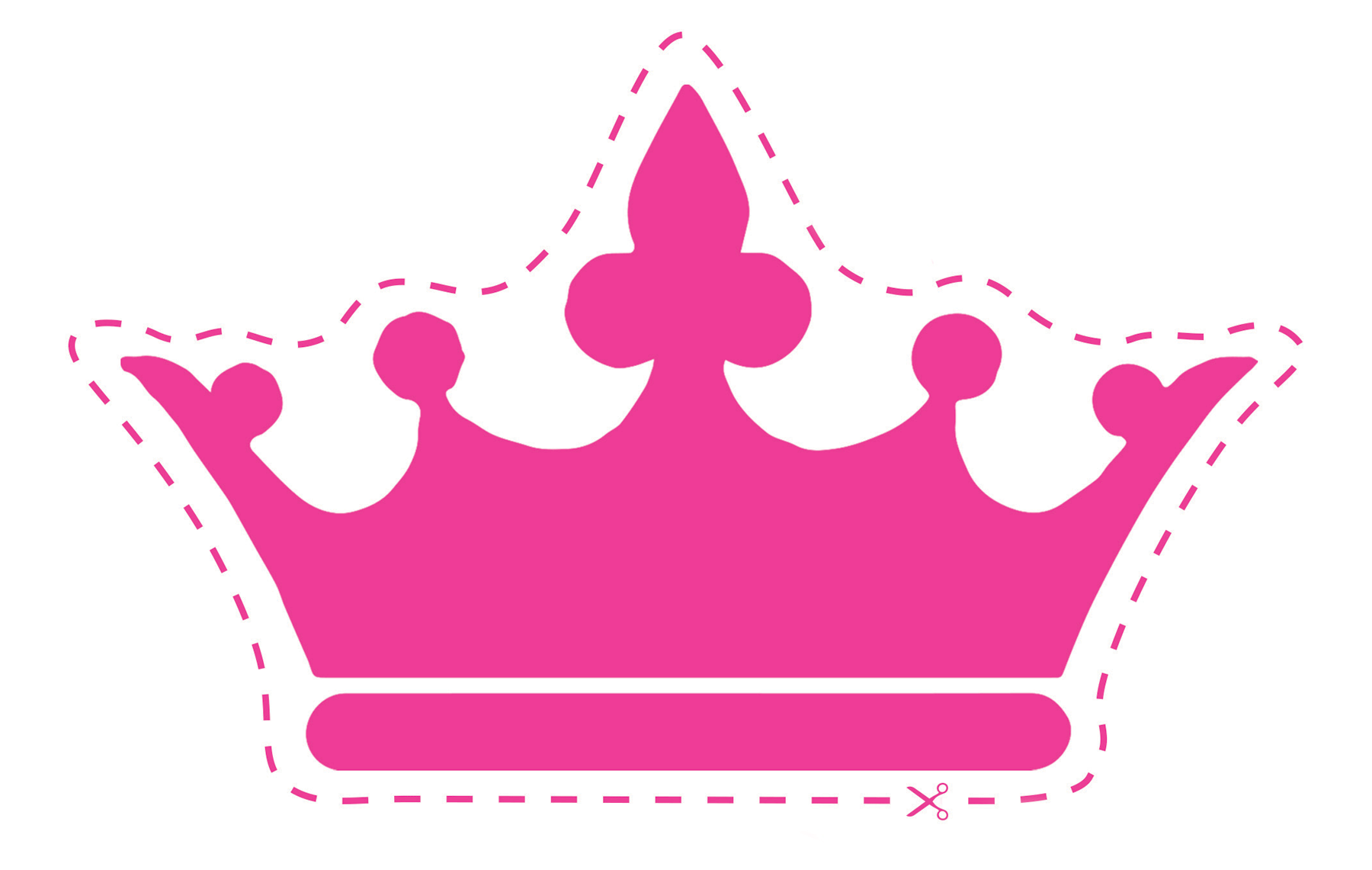 10 best images of cut out crowns and tiaras queen crown template