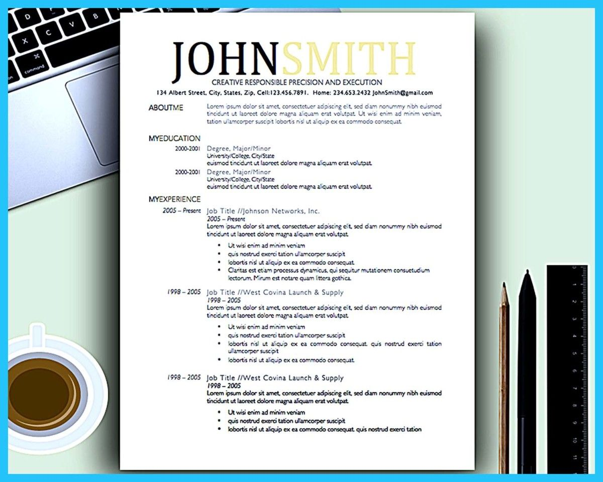 nice creative artistic resume for artistic job company http