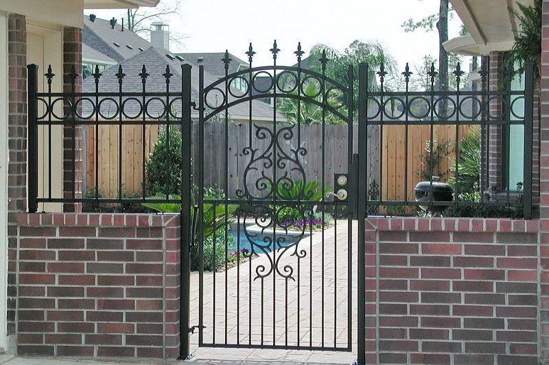 Breezeway Fences Houston Tx Area Fence Gate Design Backyard Fences Fence Design
