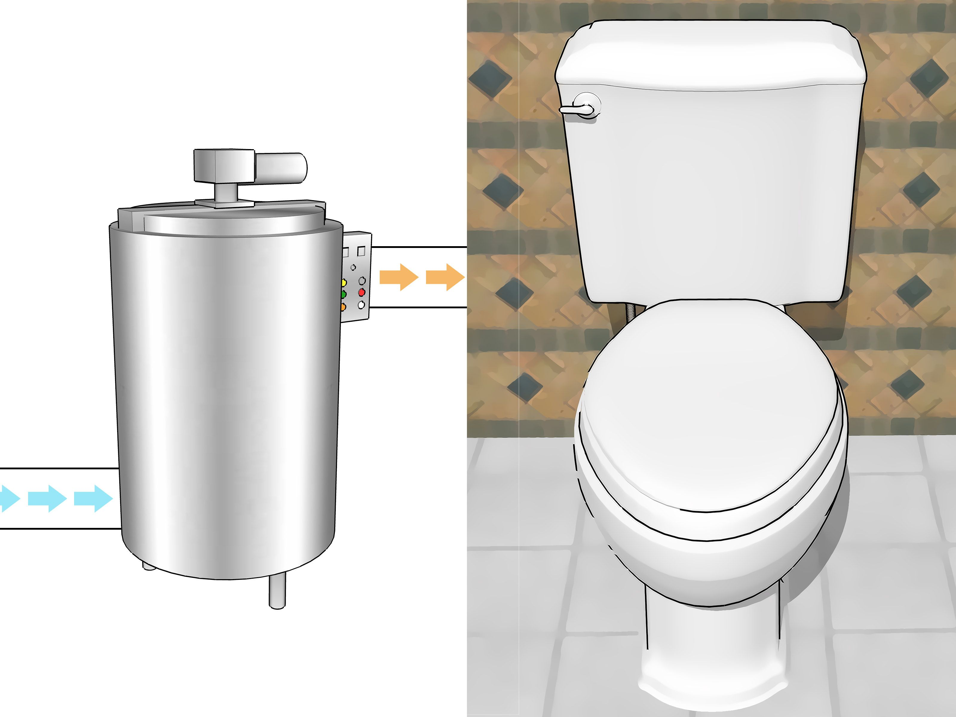 Stop Toilet Tank Sweating Toilet Outside Toilet Stop Sweating