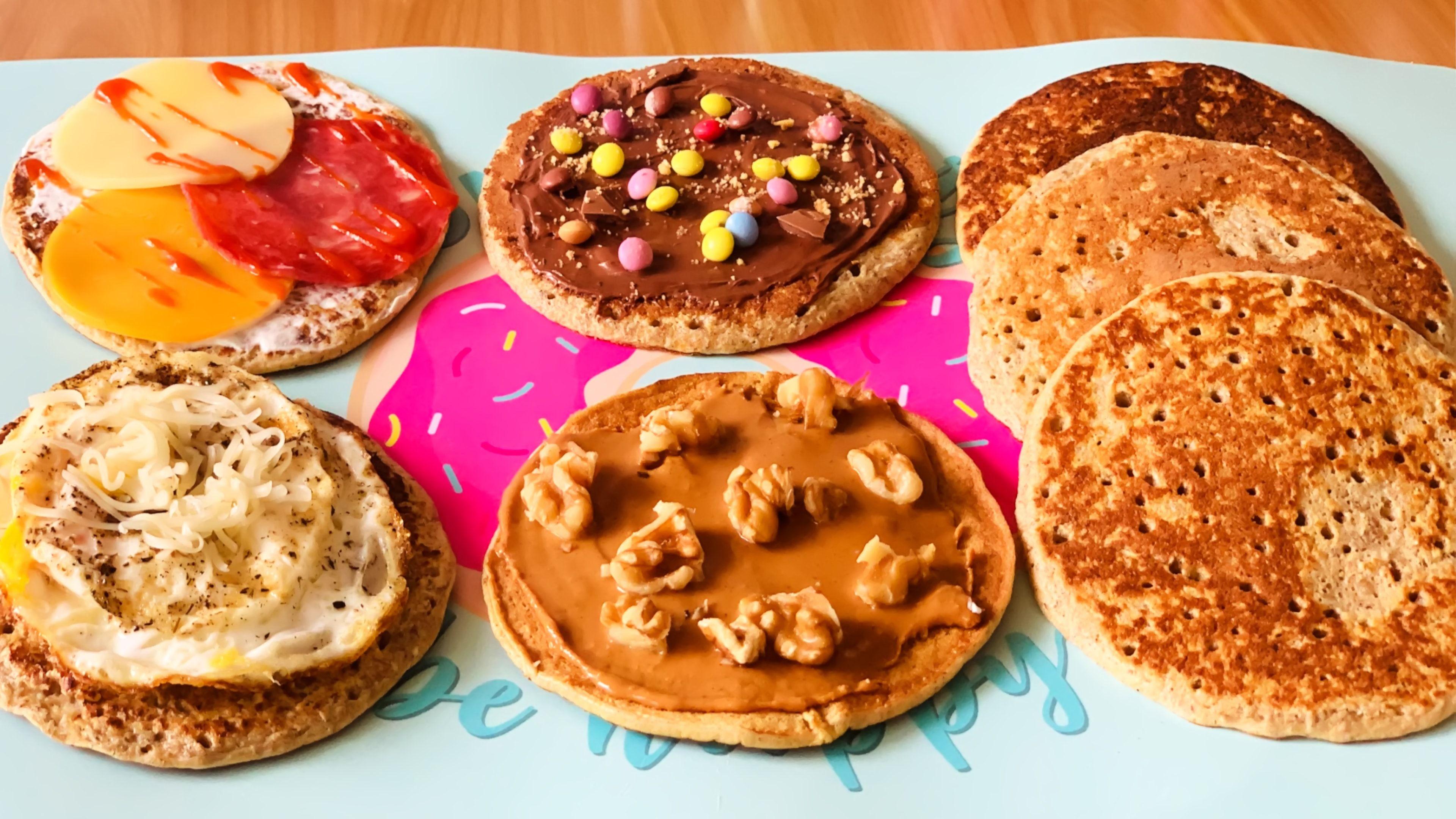 غير بكأس حليب و بدون عجن أسرع فطائر المقلاة لفطور الصباح بدون خميرة ولا دقيق Food Breakfast Muffin