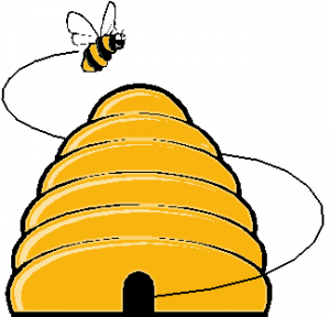 37++ Honey bee hive clipart information