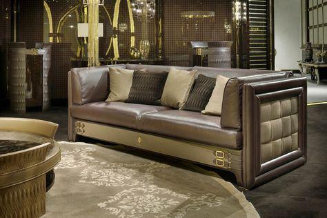 Numero Tre Collection www.turri.it Luxury italian design sofa
