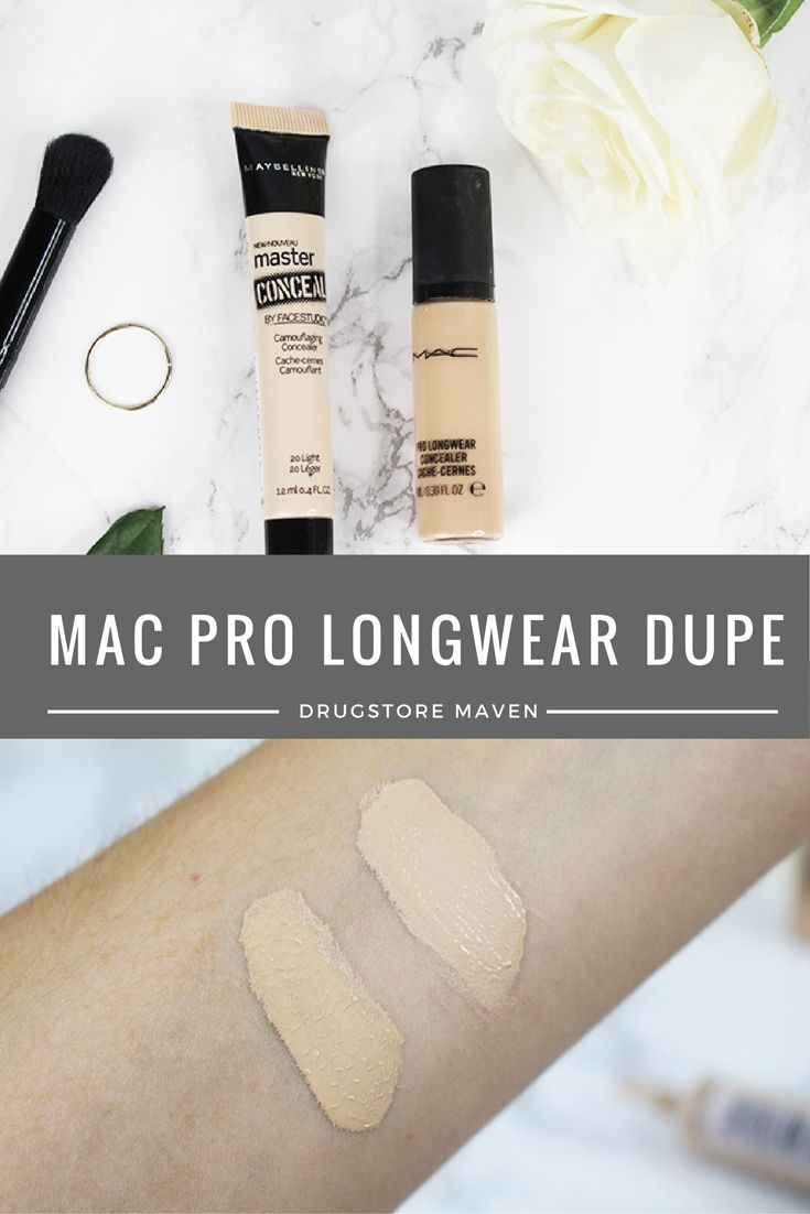 Drugstore Dupe for MAC Pro Longwear! | BEAUTY - Drugstore & Dupes in