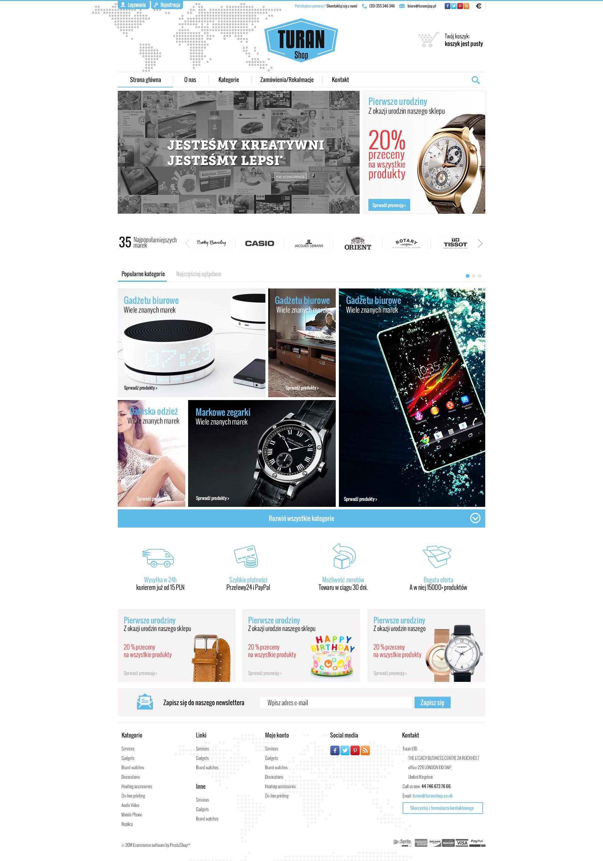 Nasz Nowy Projekt Sklepu Internetowego Marketing
