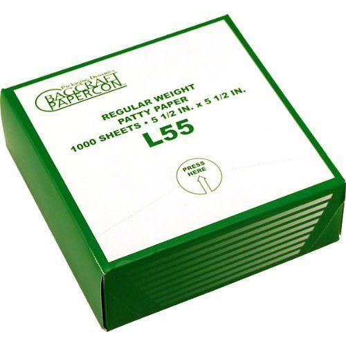 Hamburger Patty Paper - Box of 1000 Sheets Single Box KegWorks - molekulare küche set