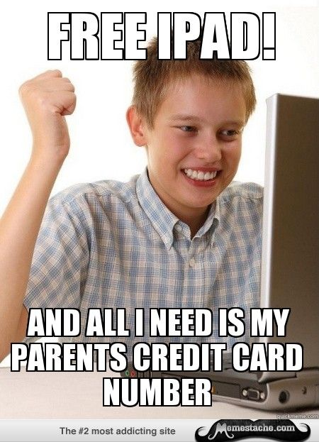 First Day on the Internet Kid: Free iPad!...