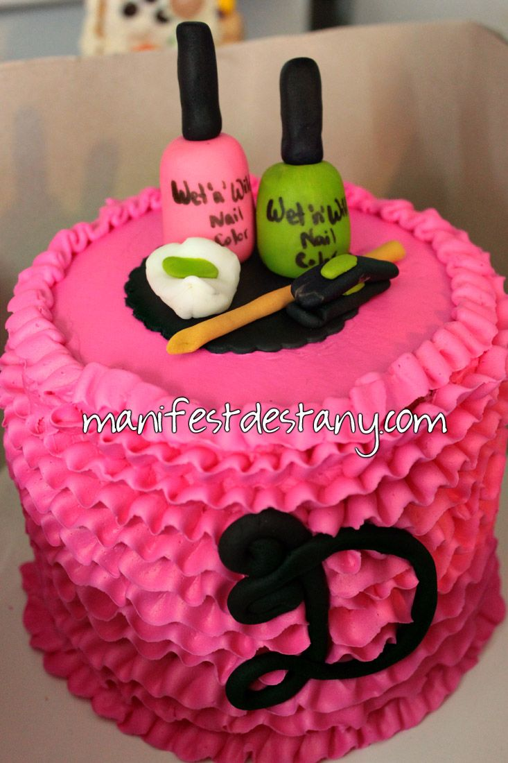 My Birthday Cake A Nail Polish Cake Confessions Of A Sarcastic