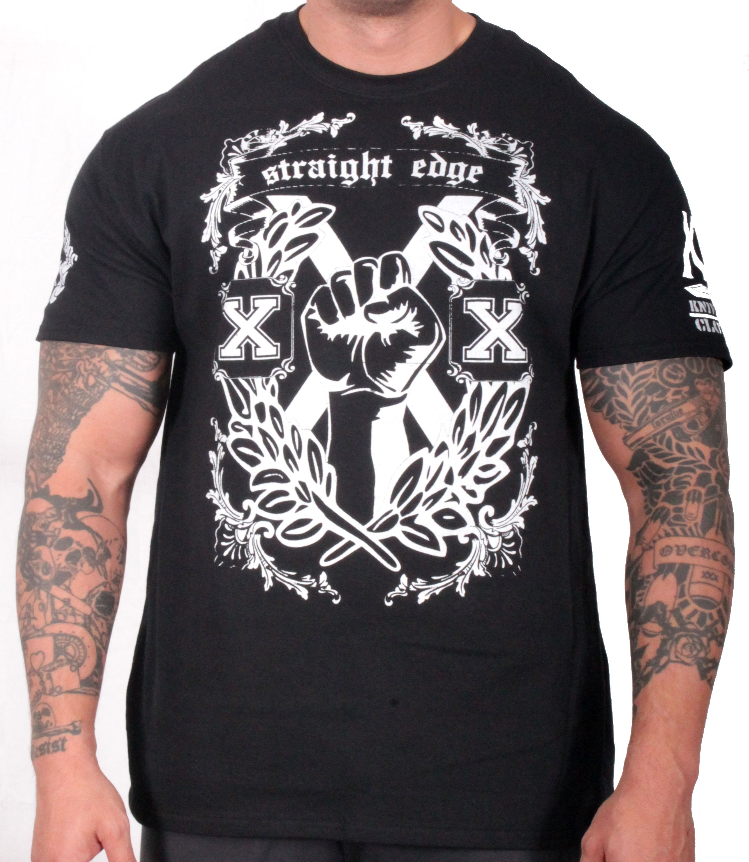 Straight Edge Fist T Shirt Cool Shirts T Shirt Shirts