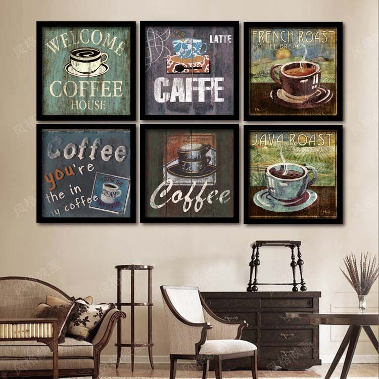 Hipster Wall Decor inspirational multicolor life quotes canvas pop art posters diy