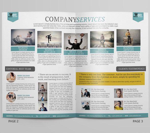 Swiss Business Newsletter On Behance  Voice
