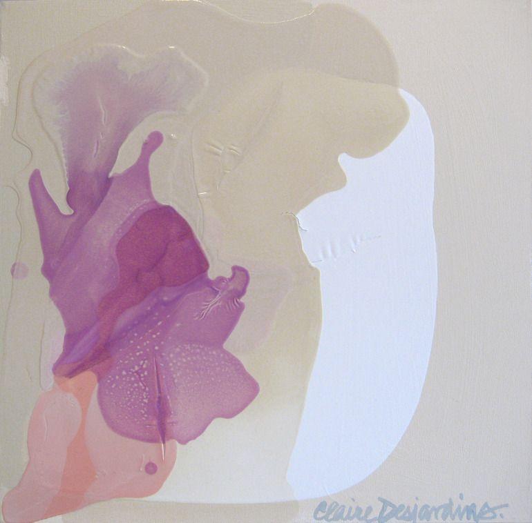 """Saatchi Online Artist: Claire Desjardins; Acrylic, 2011, Painting """"Splendid"""""""