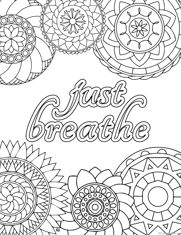 Stress Relief Coloring Pages To Help You Find Your Zen Again Stress Coloring Book Anti Stress Coloring Book Antistress Coloring