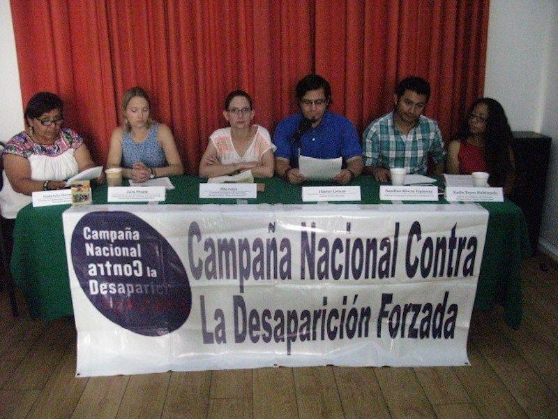 Campaña Nacional Contra la Desaparición Forzada en México