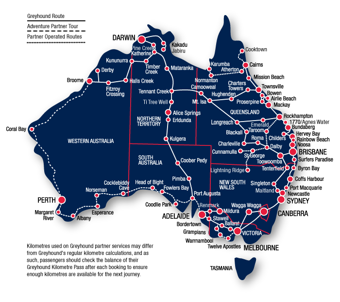 Find out the best places to go along the East Coast of Australia – Road Map of Eastern Australia