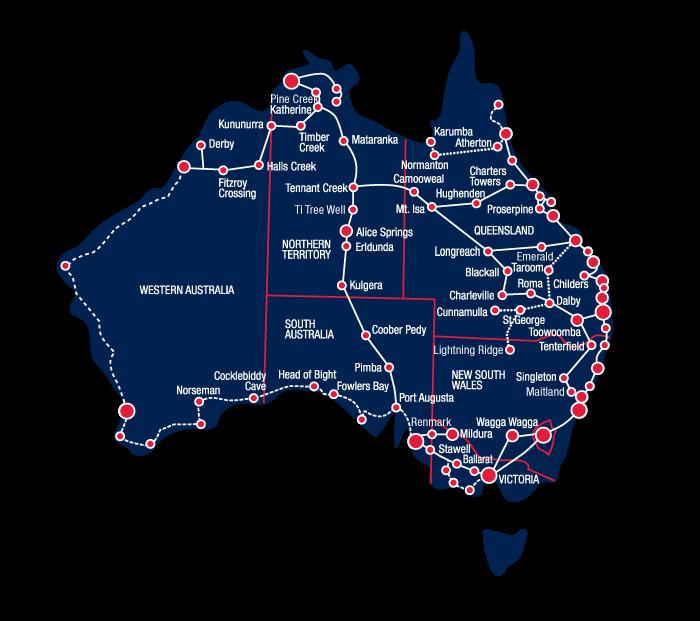 The Perfect East Coast Australia Road Trip Itinerary Australia - Australia road map