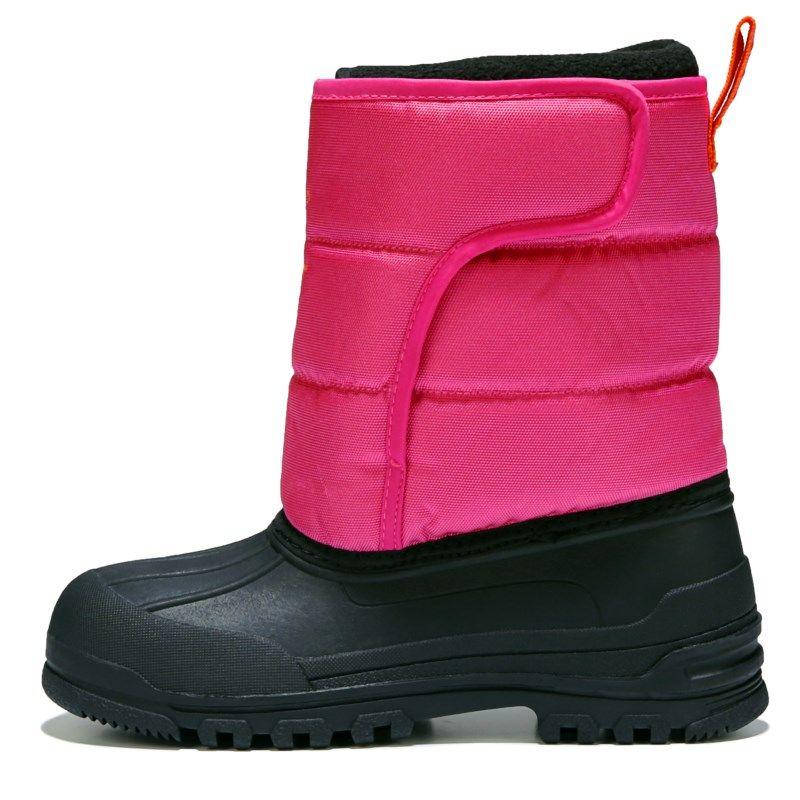 Kids Polo by Ralph Lauren Hamilten EZ Winter Boot Grade School Pink