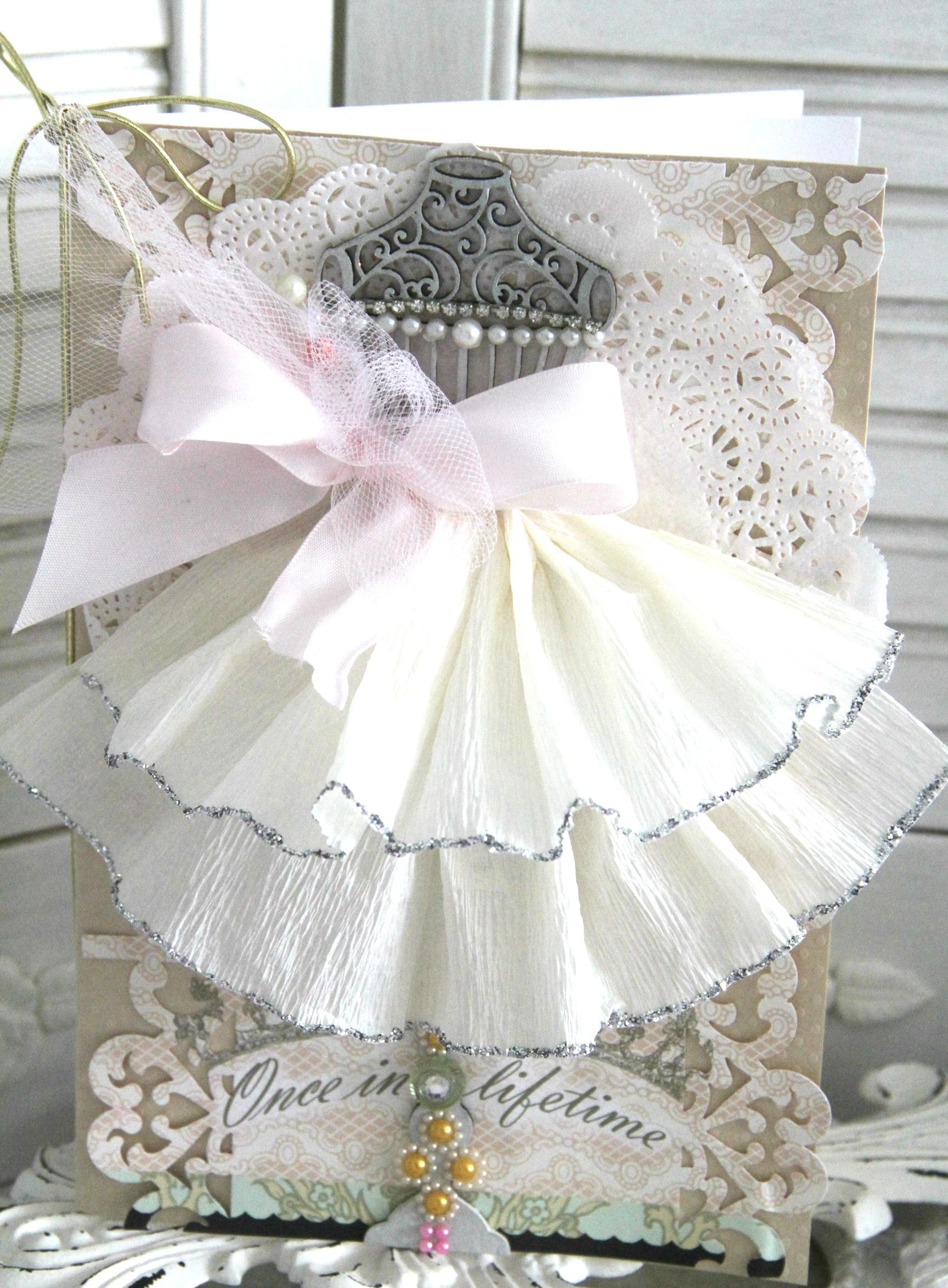 Paper Dress Prettiness pretty little wedding shower