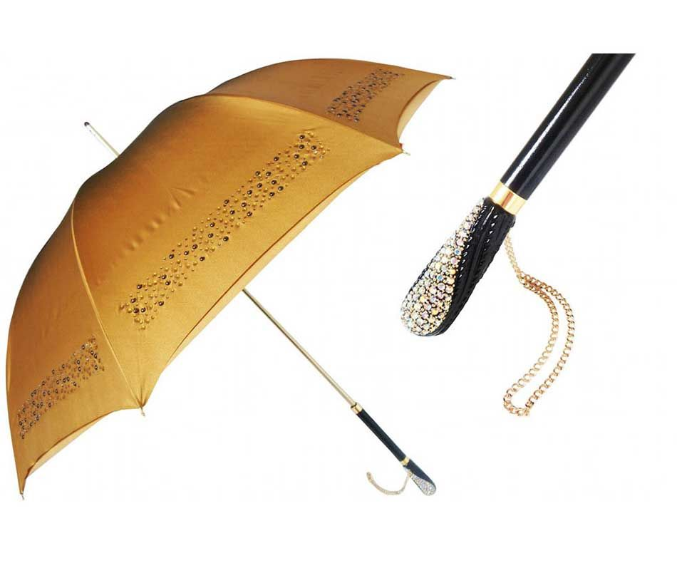 The Pasotti Ombrelli Mother-of-Pearl Black/Beige Luxury Women's Umbrella is packaged in a beautiful Pasotti Umbrella gift box. Description from pianki.com. I searched for this on bing.com/images
