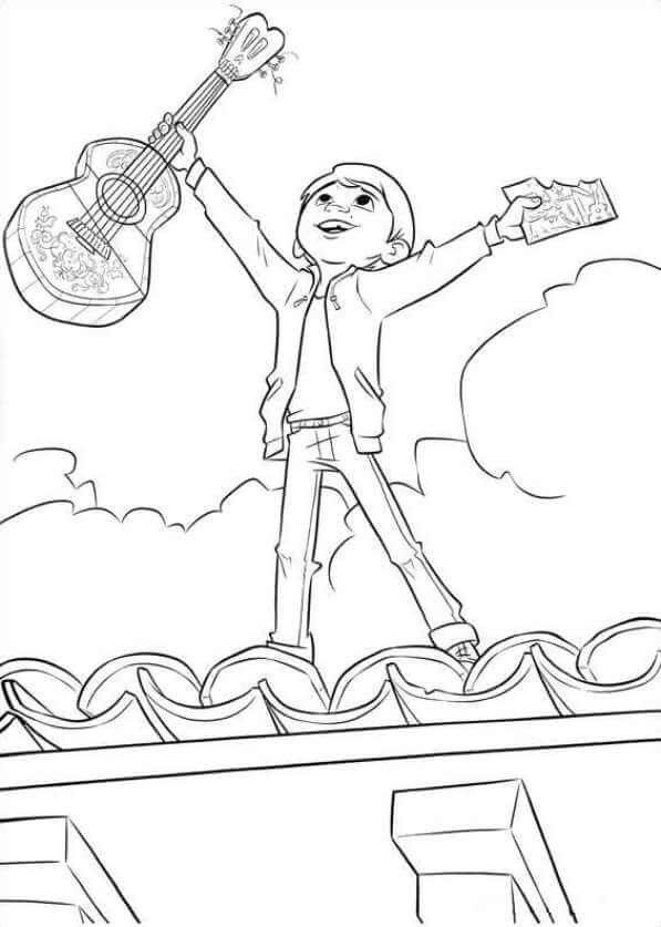 Coco Coloring Pages Coloring Pages Cartoon Coloring Pages