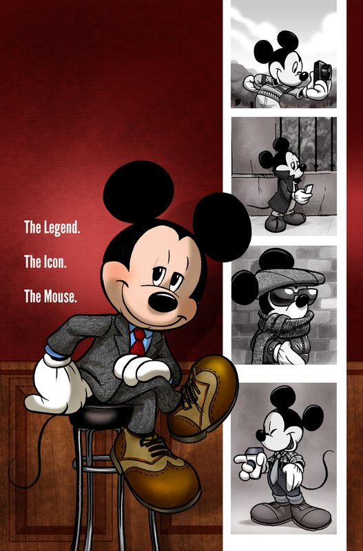 The Legend. The Icon. The Mouse. by Amy Mebbersonn