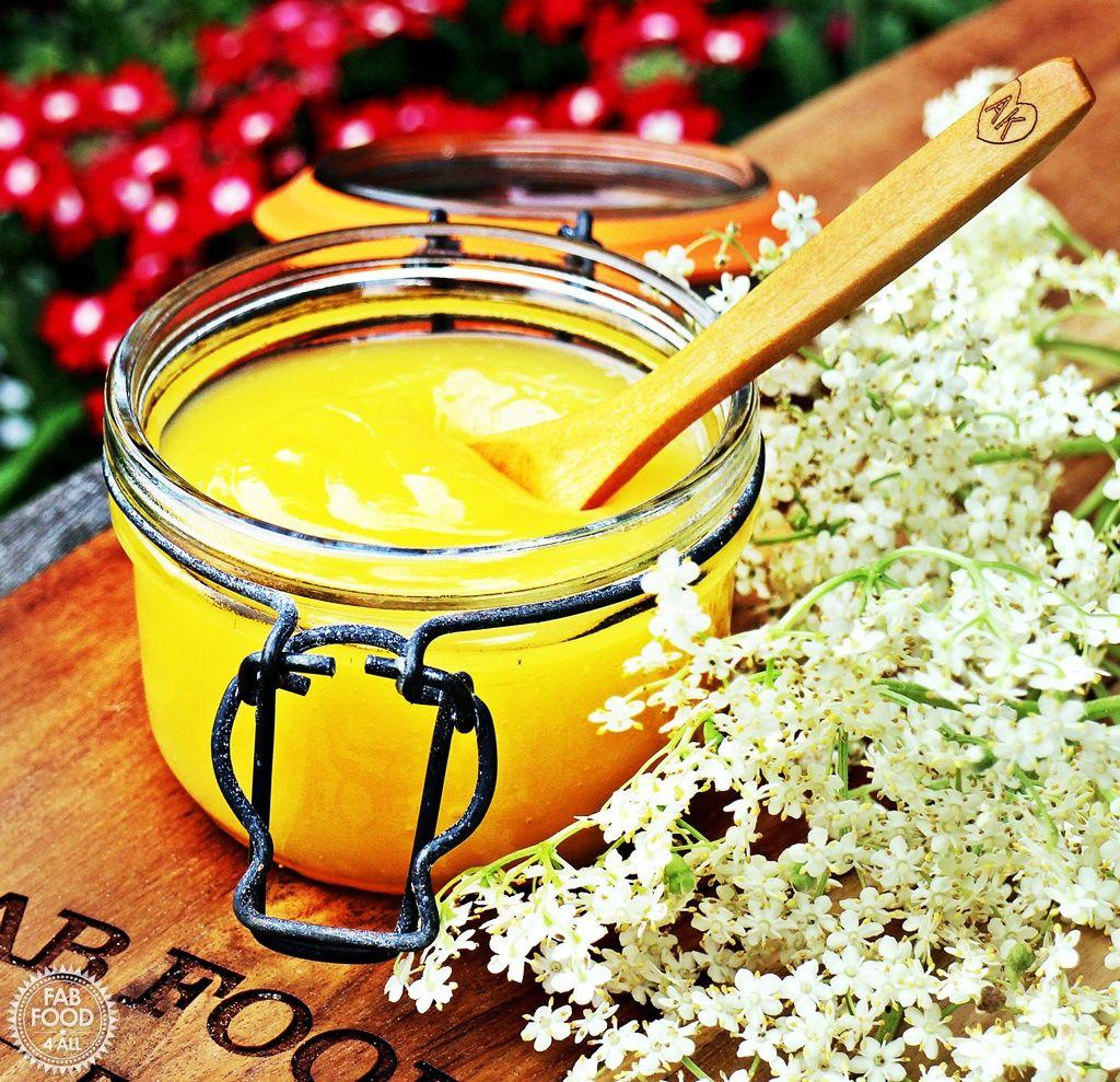 Easy Lemon & Elderflower Curd Fab Food 4 All Food