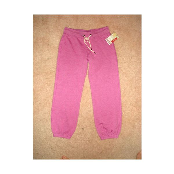 CUTE Target Mossimo Womens Light Purple Violet Terry Pants Sweats NWT NICE found on Polyvore