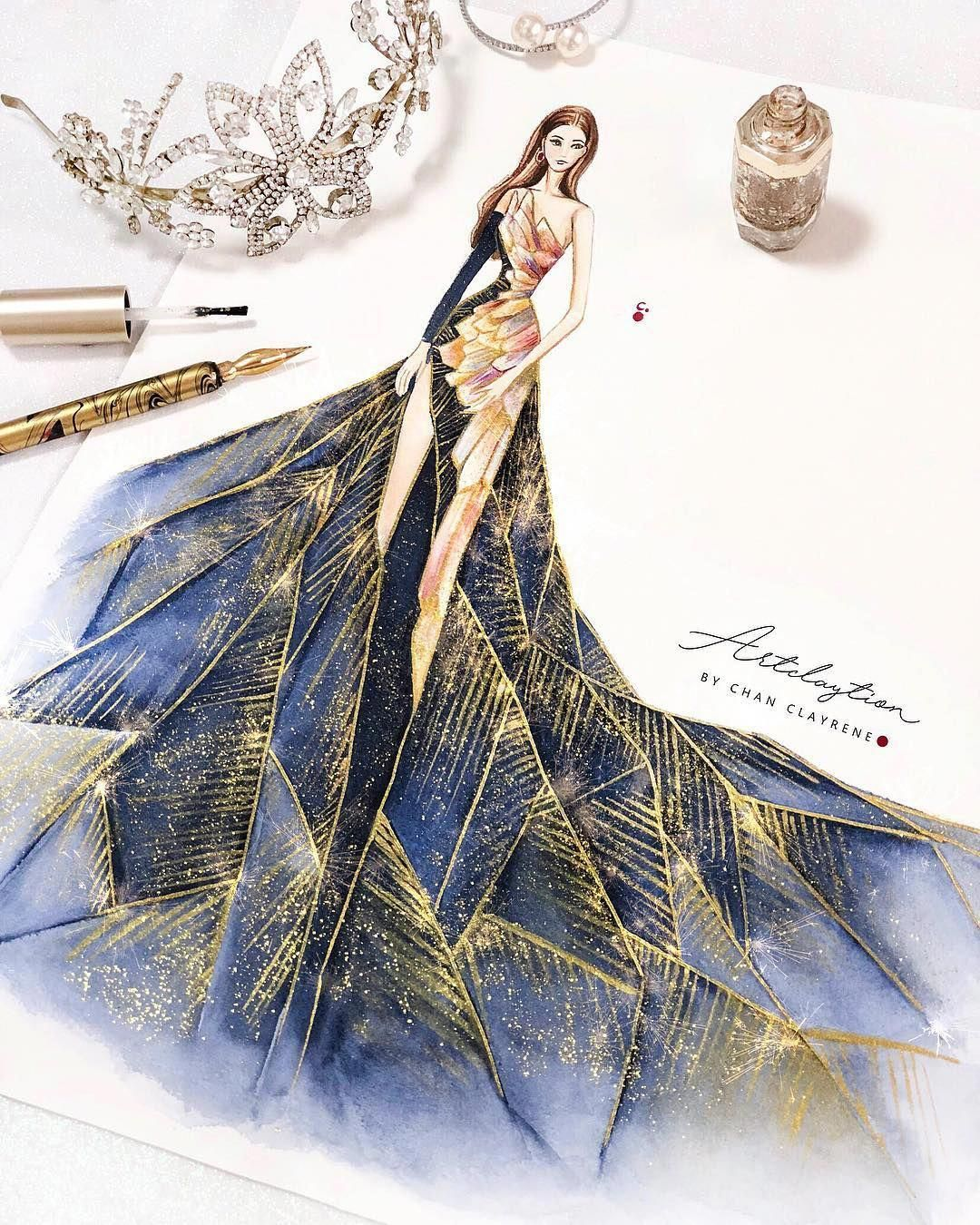 Let Me Know Who Nailed It And Who Didn T Fashiondesigners Fashion Illustration Dresses Fashion Design Sketchbook Fashion Art Illustration