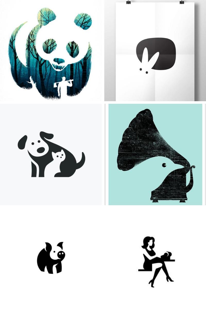 Logo Design NZ blog » 70 Negative space logos for kiwi