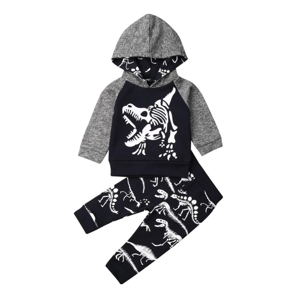7 65 4 De Descuento Citgeett Otono Nino Pequeno Bebe Nino Con Capucha Trajes De Animales De Manga Larga Tops Pantalones Ropa Conjunto De Dibujos Anim Ropa Mangas Largas Ninos Pequenos