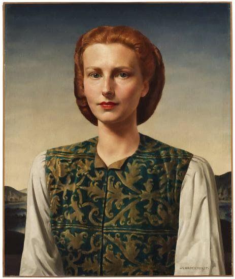 The Woman Gallery: Gerald Leslie Brockhurst (1890-1978)